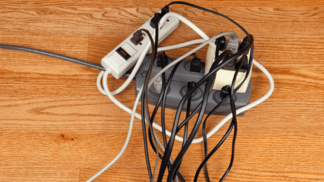 cables-bunched-up-fire-hazard