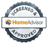 screened and approved restoration company home advisor badge
